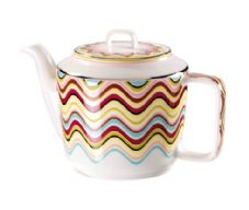 Richard Ginori Missoni Margherita Teapot with Cover